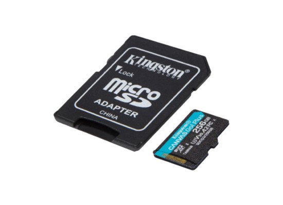 Kingston Canvas Go! Plus 256GB MicroSD Memory Card in Kuwait | Buy Online – Xcite