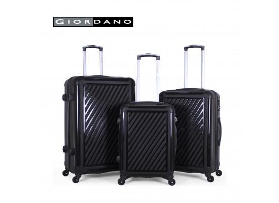 Giordano 25/732310 Hard Luggage 3 Piece Set - Black (71X44X29 CM)
