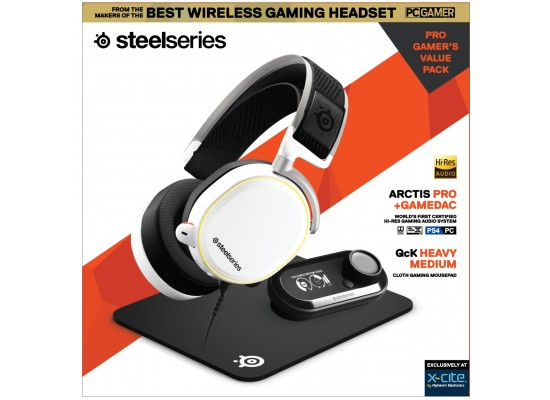 Steelseries All-In-One Gaming Kit  (Arctis Pro + Game Dac + QCK Medium Mousepad)