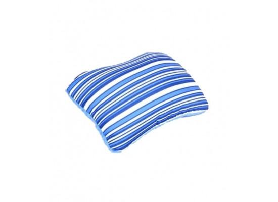 American Tourister 2-way Travel Pillows - Blue Stripes