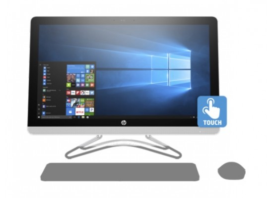 HP 24-e000ne  All-in-One Desktop - Front View 1
