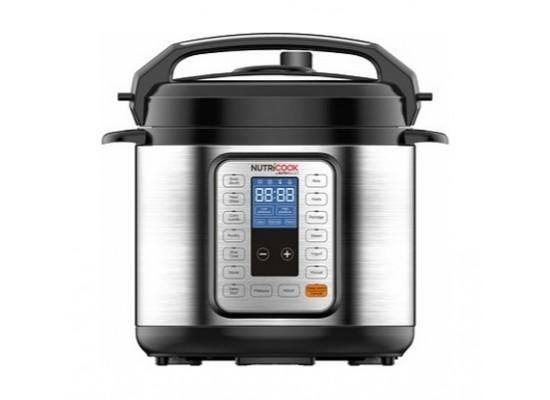 NutriCook Smart Pot Pressure Cooker 6L 1000W - (NC-PR06)