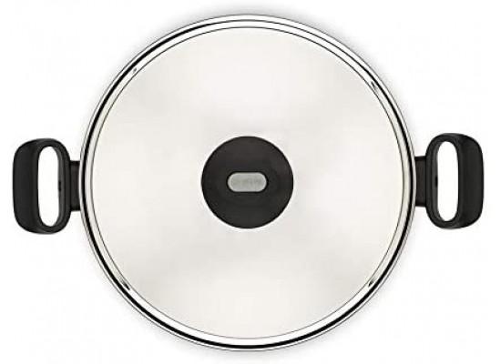 Tefal Tempo Flame 26cm Casserole Stew Pot with Lid - (C5485282)