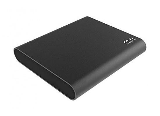 PNY Pro Elite 960GB USB 3.1 Gen 2 Type-C  Portable SSD - Black