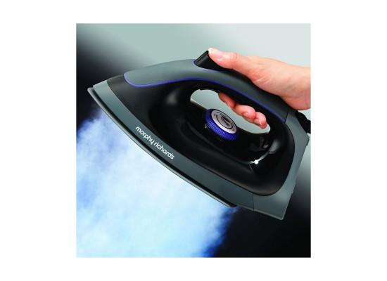 Morphy Richards Auto Clean Power Steam Elite Steam Generator Iron (332000) - Purple