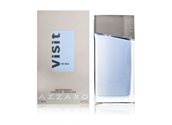 Azzaro Visit By Azzaro For Men 100 Ml Eau De Toilette Xcite