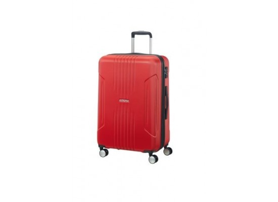 American Tourister Tracklite 55CM Spinner Hard Luggage (34GX00801) - Red