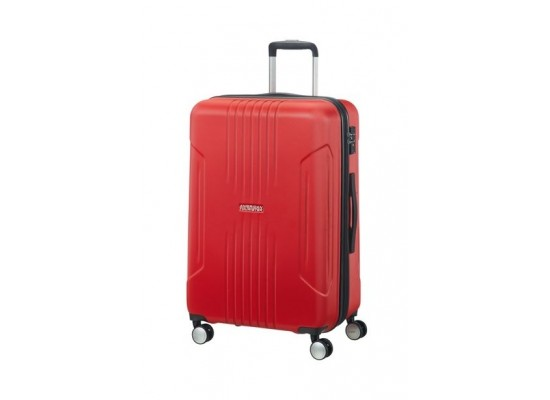 American Tourister Tracklite 78CM Spinner Hard Luggage (34GX00803) - Red