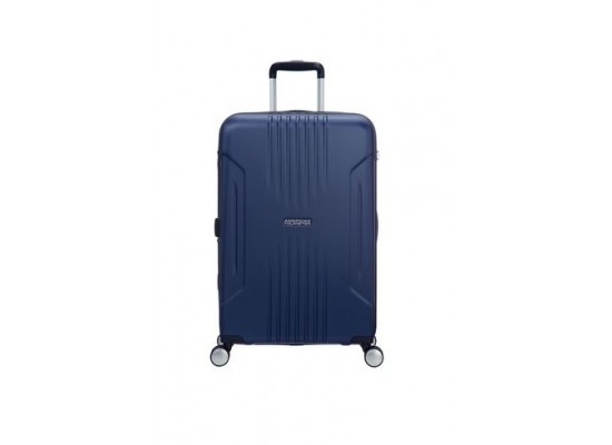 American Tourister Tracklite 55CM Spinner Hard Luggage (34GX01801) - Matte Blue