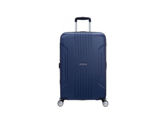 American Tourister Tracklite 67CM Spinner Hard Luggage (34GX01802) - Matte Blue