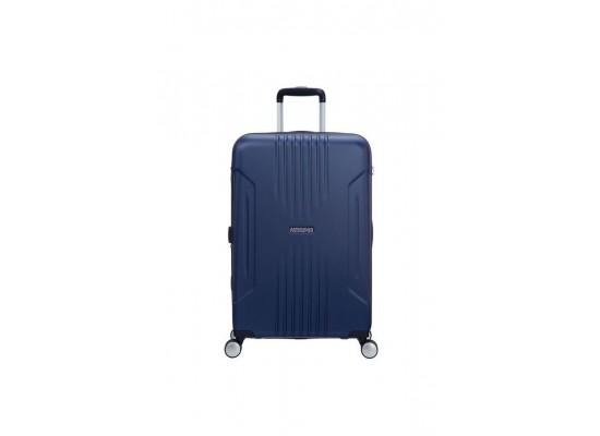 American Tourister Tracklite 78CM Spinner Hard Luggage (34GX01803) - Matte Blue