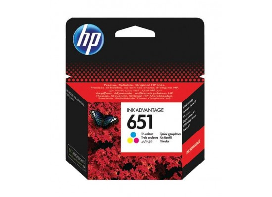 HP Ink 651 TriColor Ink