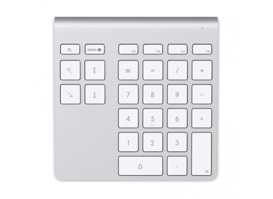 6cdfd766915 Belkin 28 keys YourType Bluetooth Wireless Keypad (F8T067CW) – Silver /  White