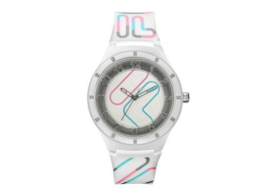 Fila 44mm Unisex Analog Casual Rubber Watch - (38-324-003)