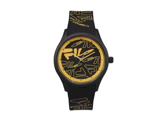 Fila 40mm Unisex Analogue Rubber Sports Watch (38129201) - Black