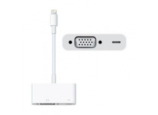 Apple Lightning to VGA Adapter (MD825ZM/A) - White