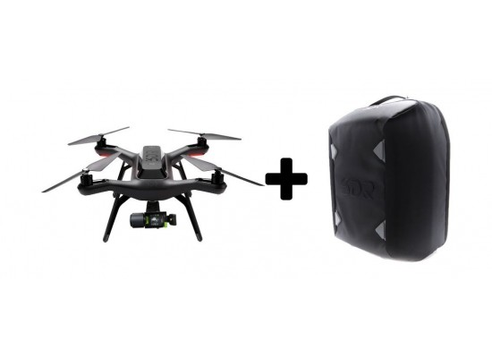3DR Solo Quadcopter With 3-Axis Solo Gimbal + 3DR Backpack
