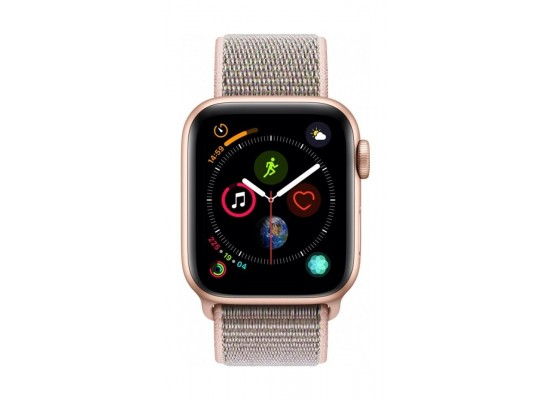 Apple Watch Series 4 40mm, Gold Aluminium Case, Pink Sand Sport Loop