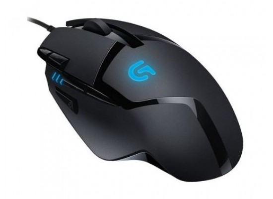Logitech G402 Hyperion Fury Ultra-Fast FPS Gaming Mouse Wireless - Black