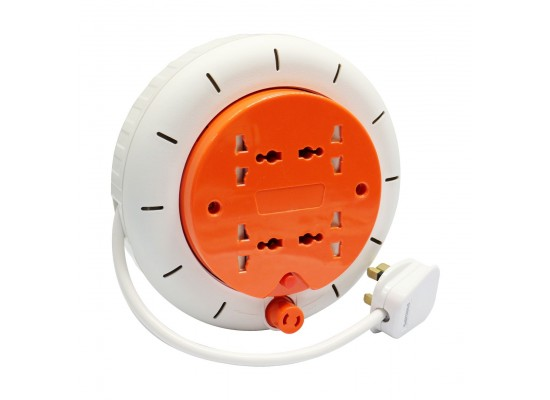 Philips 4 Universal Outlets 5M Extension Cable Reel (PE010)