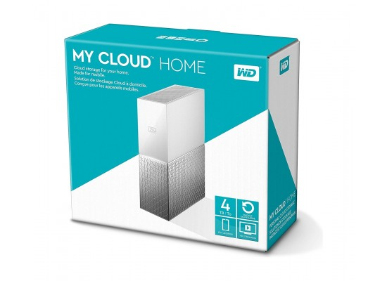 Western Digital 4TB MyCloud Home Hard Drive (WDBVXC0040HWT) - White