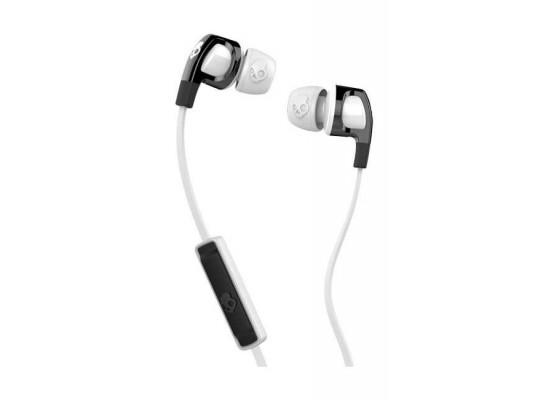 Skullcandy Smokin Buds 2 Wired In-Ear Earphones with Mic - Clear/Black