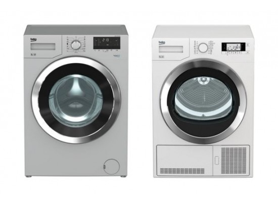 Beko 9kg 1200 Rpm Front Load Washing Machine Silver Beko 9 Kg