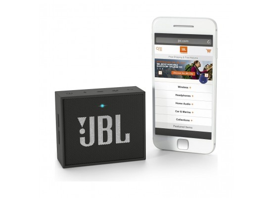 JBL GO Bluetooth Wireless Portable Speaker - Black