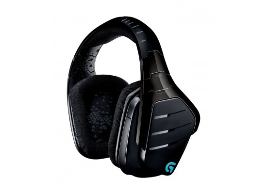 Logitech G933 Artemis Spectrum 7.1 Surround Sound Gaming Wireless Headset (981-000599) - Black