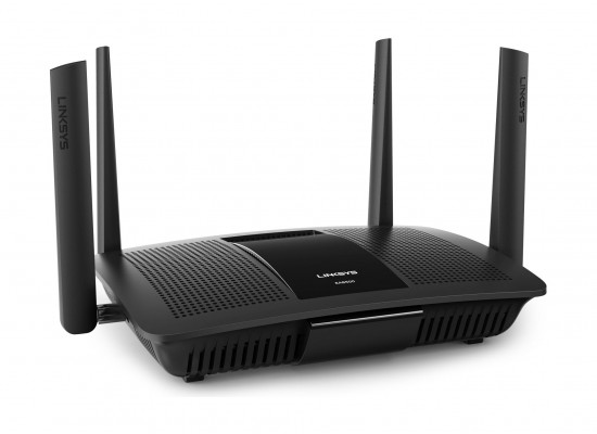 Linksys EA8500 Max-Stream AC2600 Mu-Mimo Smart Wi-Fi Router - Black