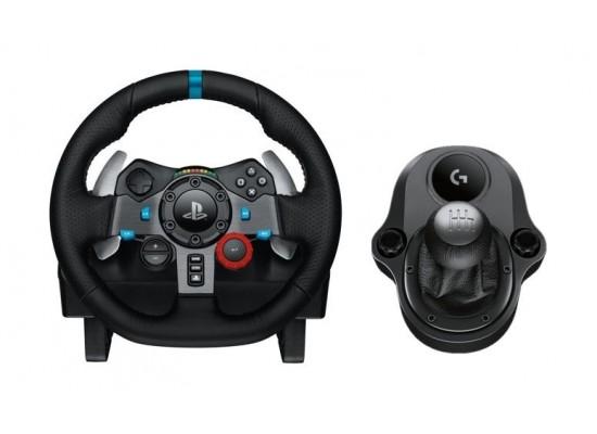 Logitech G29 Driving Force Racing Wheel + Logitech G Driving Force Shifter