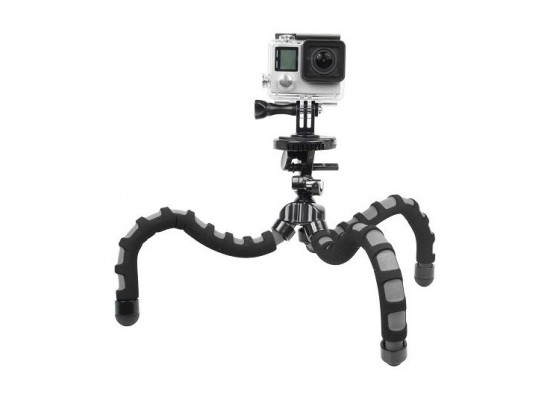 Bower Xtreme Action Series Flex Tripod for GoPro (XAS-BPG) - Black