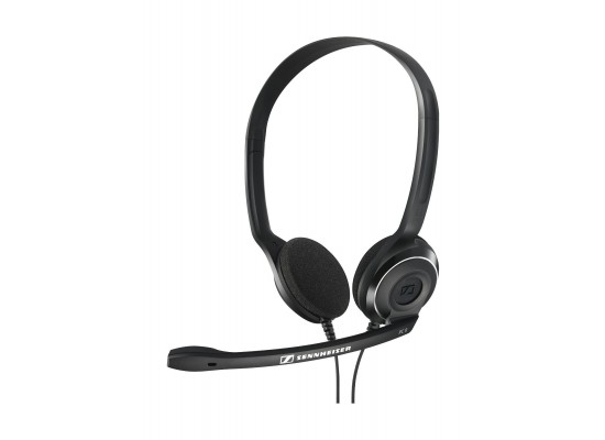 Sennheiser PC 8 USB Over-Head Wired Headset with Mic - Black