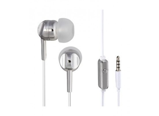 Thomson In-ear Wired Earphone with Microphone (132496) - SIlver ... 51f63c54ac