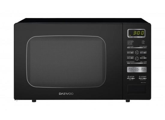 Daewoo 26L 900W Grill Microwave (KQG-9GPBB) – Black