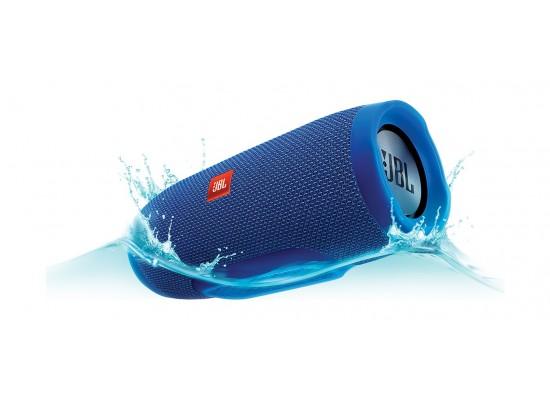 JBL Charge 3 Splash Proof Bluetooth Wireless Portable Speaker - Blue