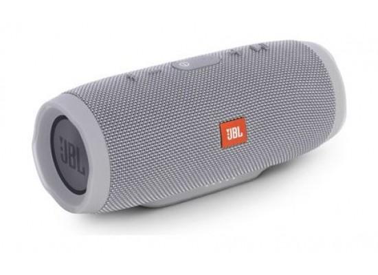 JBL Charge 3 Splash Proof Bluetooth Wireless Portable Speaker - Grey