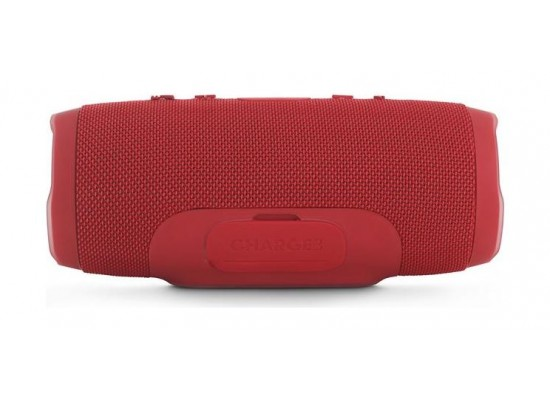 JBL Charge 3 Splash Proof Bluetooth Wireless Portable Speaker - Red