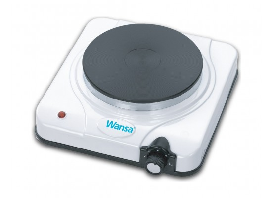 Wansa 1500W Single Hot Plate (ES-025) – Black / Silver