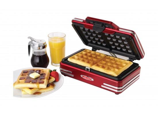 Nostalgia Belgian Waffle Maker (RWM200RR)