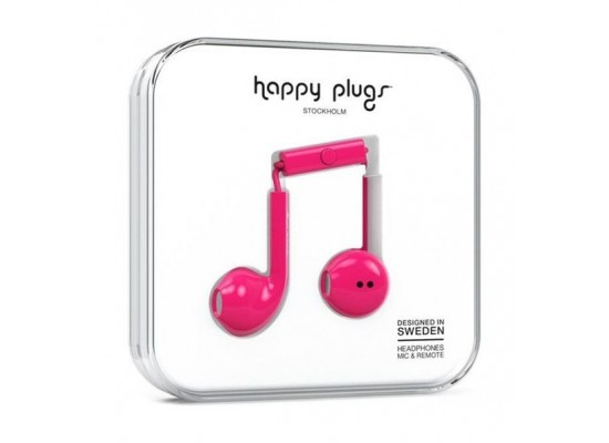 Happy Plugs Earbud Earphones - Pink