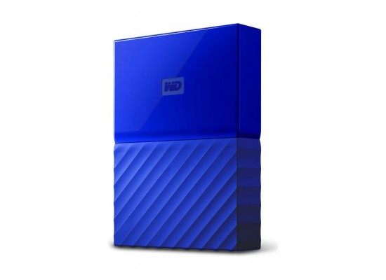 WD 2TB My Passport USB 3.0 External Hard Drive - Blue