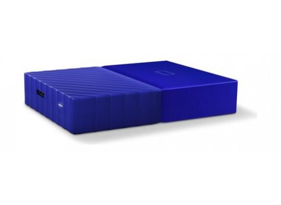 WD 1TB My Passport USB 3.0 External Hard Drive - Blue