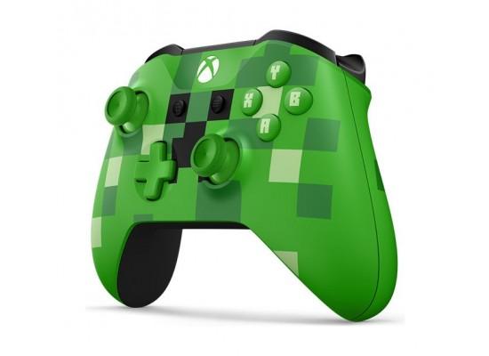 Microsoft Xbox One Minecraft Creeper Wireless Controller (WL3-00057) - Right View
