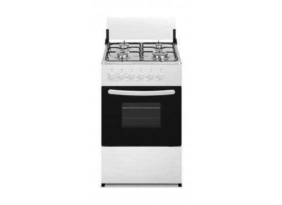 Wansa 50x50 cm 4-Burner Floor Standing Gas Cooker + Wansa Gold Twin Tub Washer 5kg + Wansa Single Door Fridge
