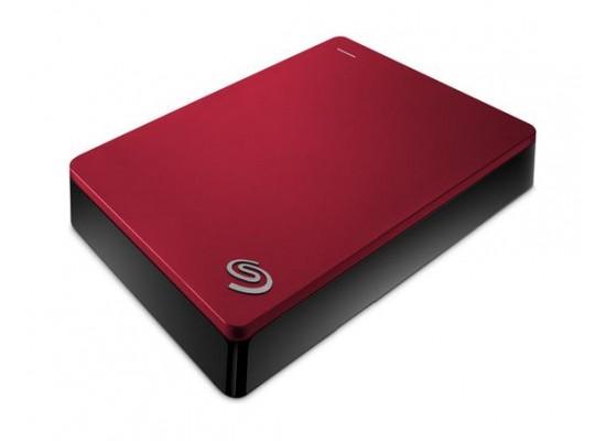 Seagate Backup Plus 4TB Portable Hard Drive (STDR4000902) - Red