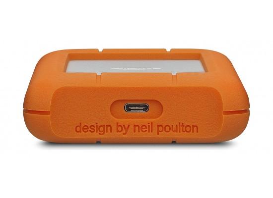 LaCie Rugged USB-C 2TB Portable Hard Drive (STFR2000800)