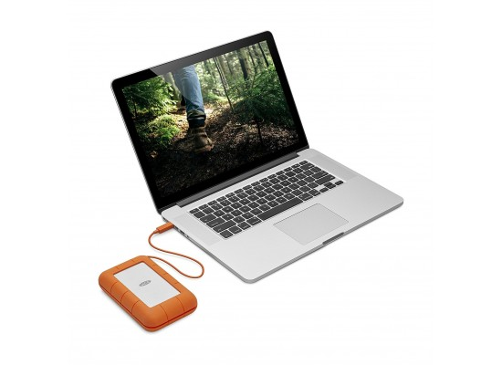 Lacie Rugged Thunderbolt USB-C 4TB Hard Drive (STFS4000800)