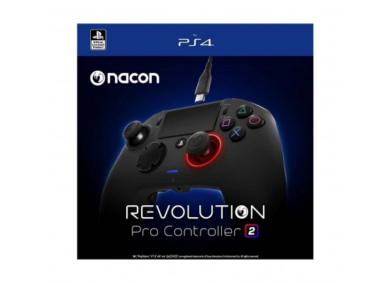 Bigben Nacon REVOLUTION Pro PS4 & PC Controller V2 - Black