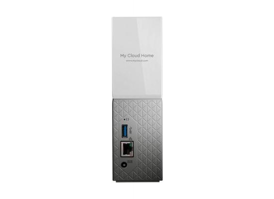 Western Digital 8TB MyCloud Home Hard Drive (WDBVXC0080HWT) - White